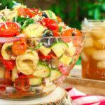 Pizza Tortellini Salad