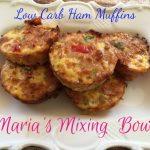 Low Carb Ham Muffins