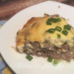 Low Carb White Castle Pie