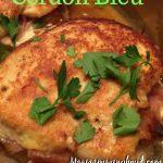 Skillet Chicken Cordon Bleu
