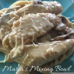 Chicken and Mushroom in Lemon Cream Sauce