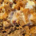 Creamy Cheesy Taco Pasta Bake