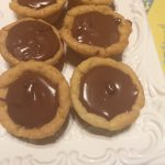 Peanut Butter and Nutella Cookie Cups