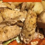 Chicken Potatoes and Carrot Bake