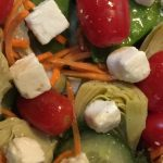 Salad with Artichoke and Feta