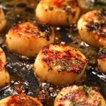 Easy Brown Butter  Scallop Scampi