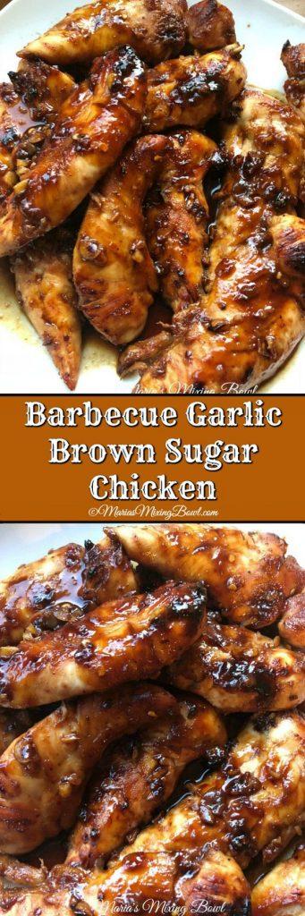 Barbecue Garlic Brown Sugar Chicken