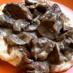 Slow Cooker Beef Tips with Mushroom