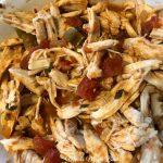 Three Ingredient Slow Cooker Taco Chicken