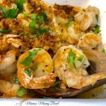Easy Garlic Baked Shrimp
