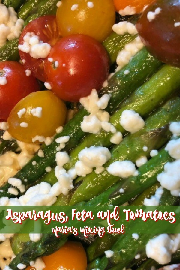 Asparagus, Feta and Tomatoes