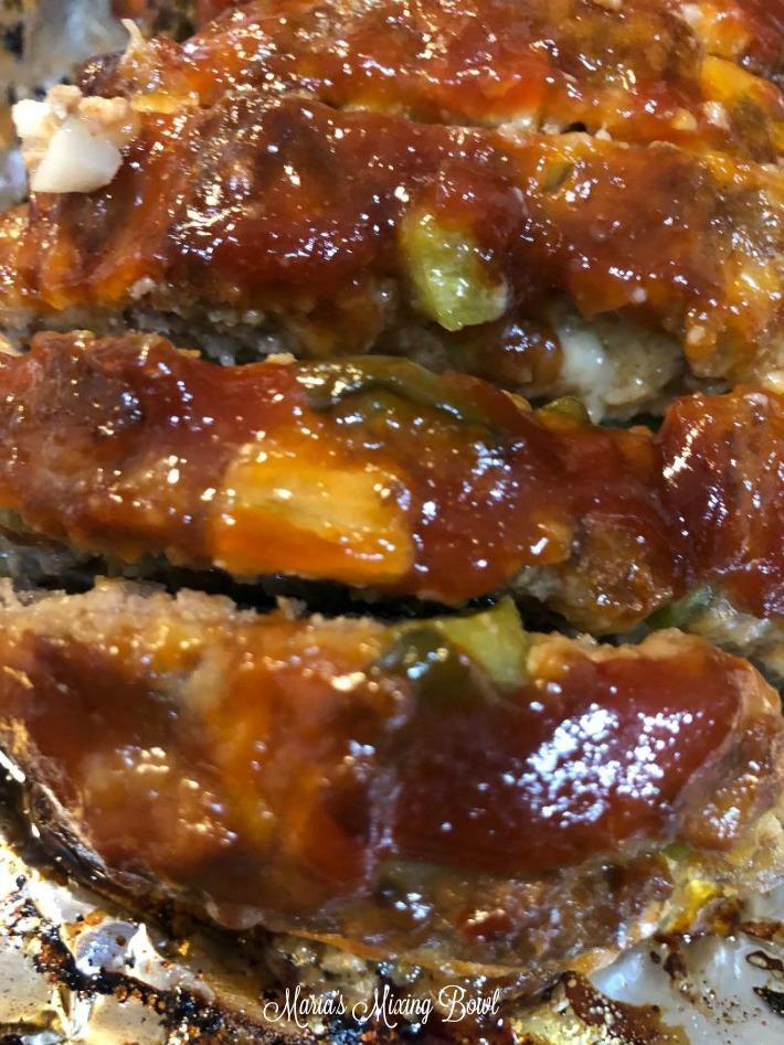 close up meatloaf