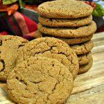 Pumpkin Spice Gingersnap Cookies