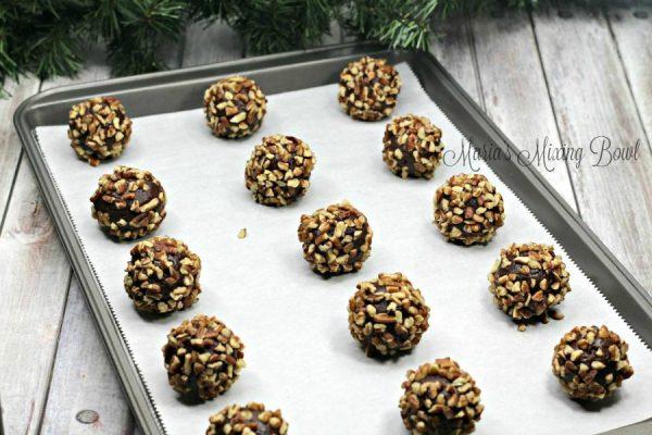 Turtle Thumprint Cookies