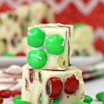 M&M White Chocolate Fudge
