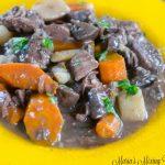 Instant Pot Beef Bourguignon
