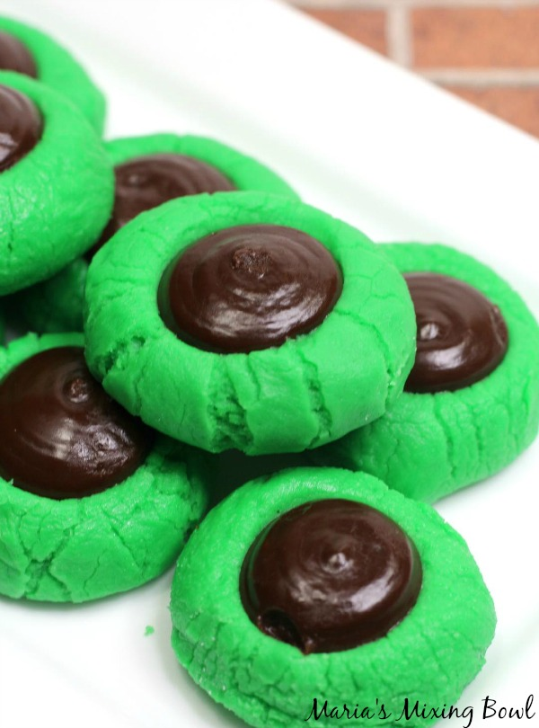 No Bake Cream Cheese Mint Buttons