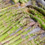 Roasted Garlic Asparagus