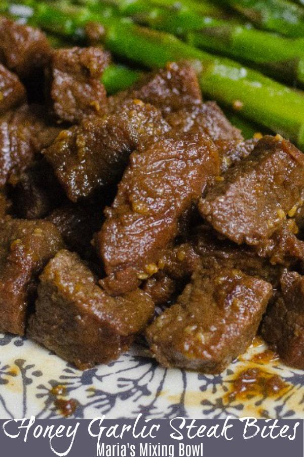 Honey Garlic Steak Bites