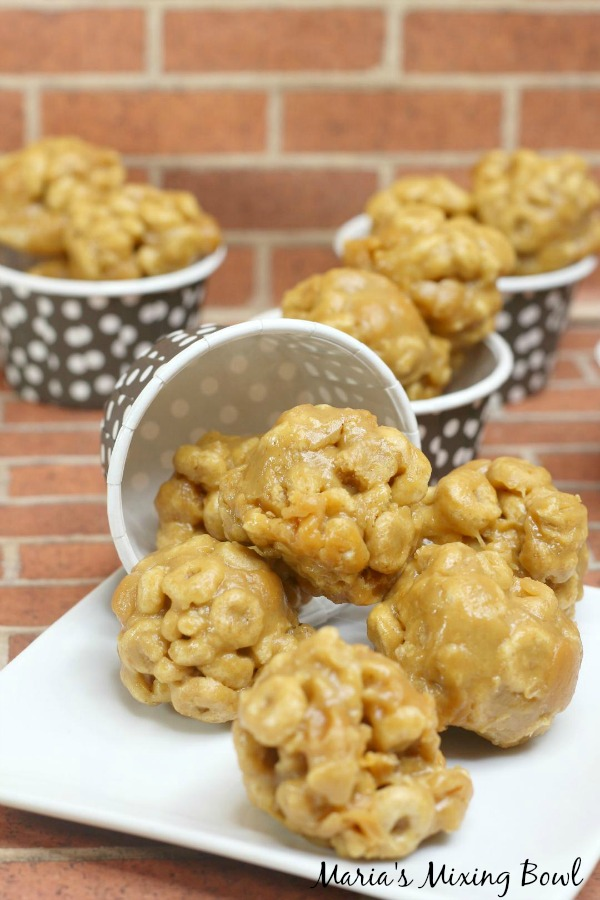 Peanut Butter Cereal Clusters