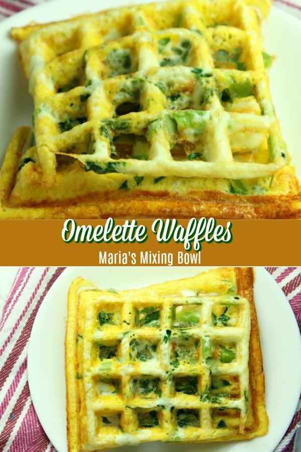 Omelette Waffles Recipe