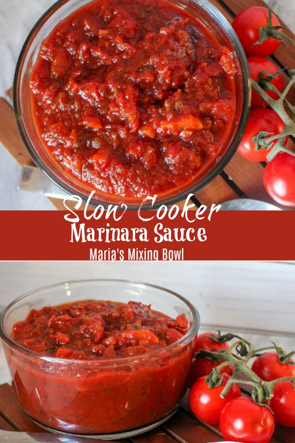 Slow Cooker Marinara Sauce