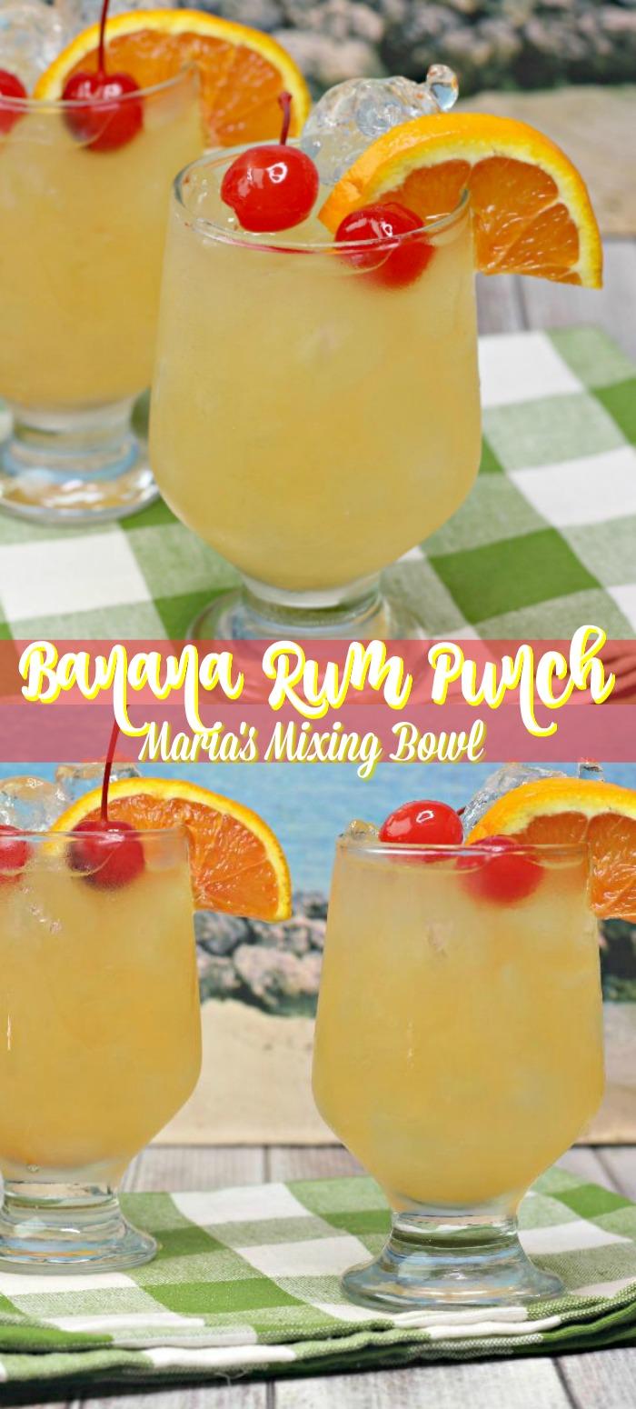 Banana Rum Punch