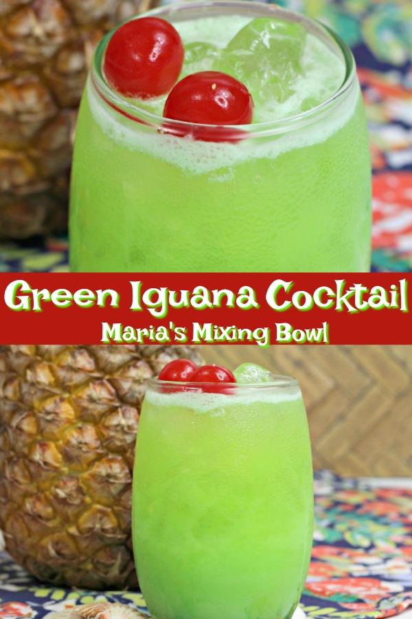 Green Iguana Cocktail Recipe