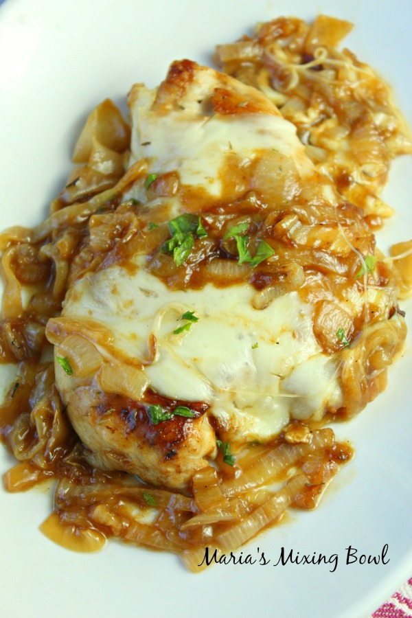 French Onion soup Chicken