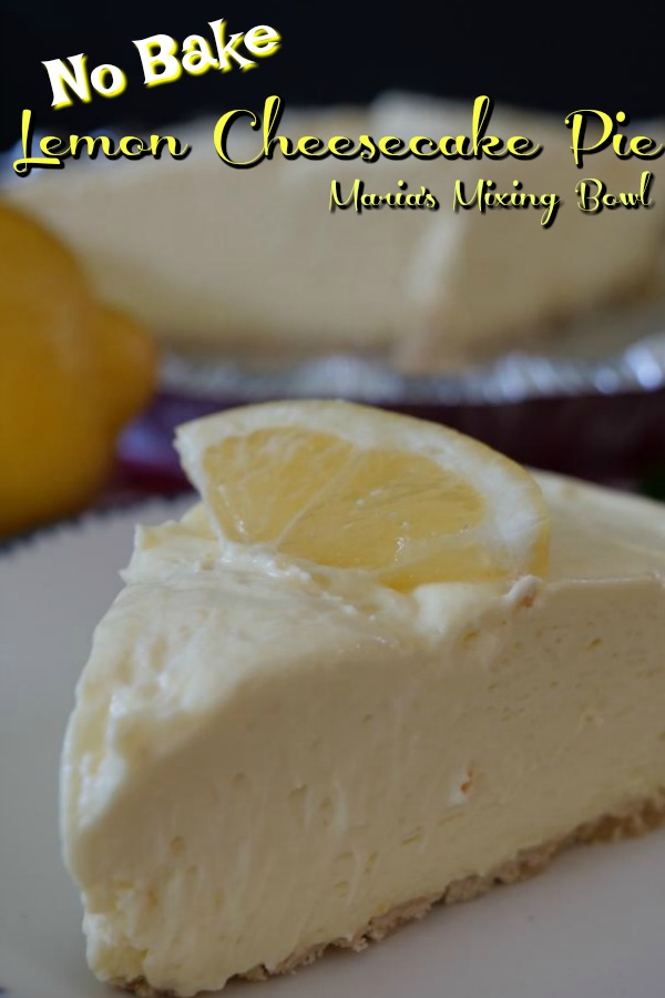 no bake lemon cheesecake pie