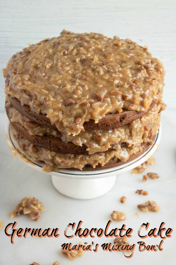 German Chocolate Cake Dessert