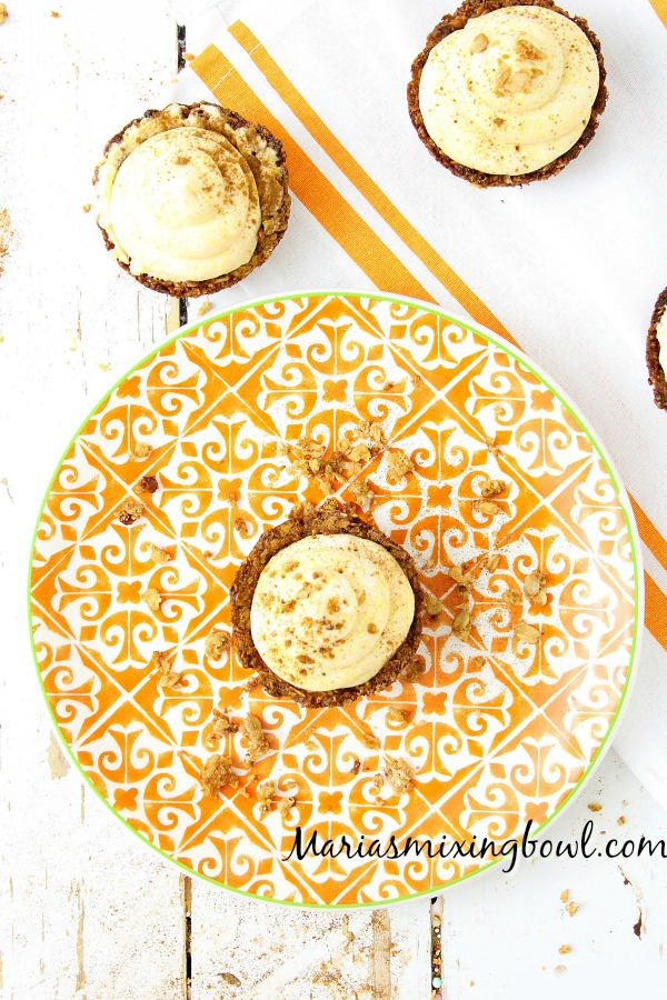 Pumpkin Spice Mousse Cups