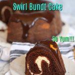 Chocolate Cream Cheese Swirl Bundt Cake