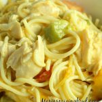 Creamy Chicken Spaghetti