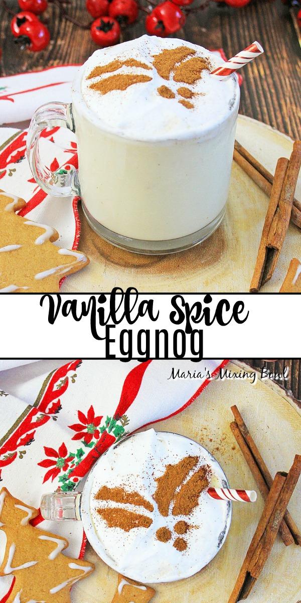 Vanilla Spice Eggnog