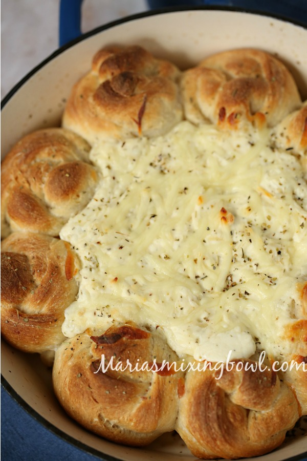 5 Cheese White Pizza Dip