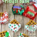 Candy Bar Pretzel Bites