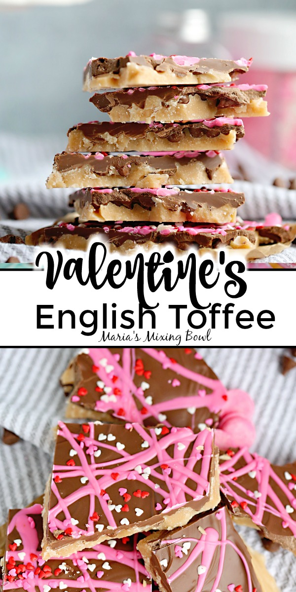 Valentine's English Toffee