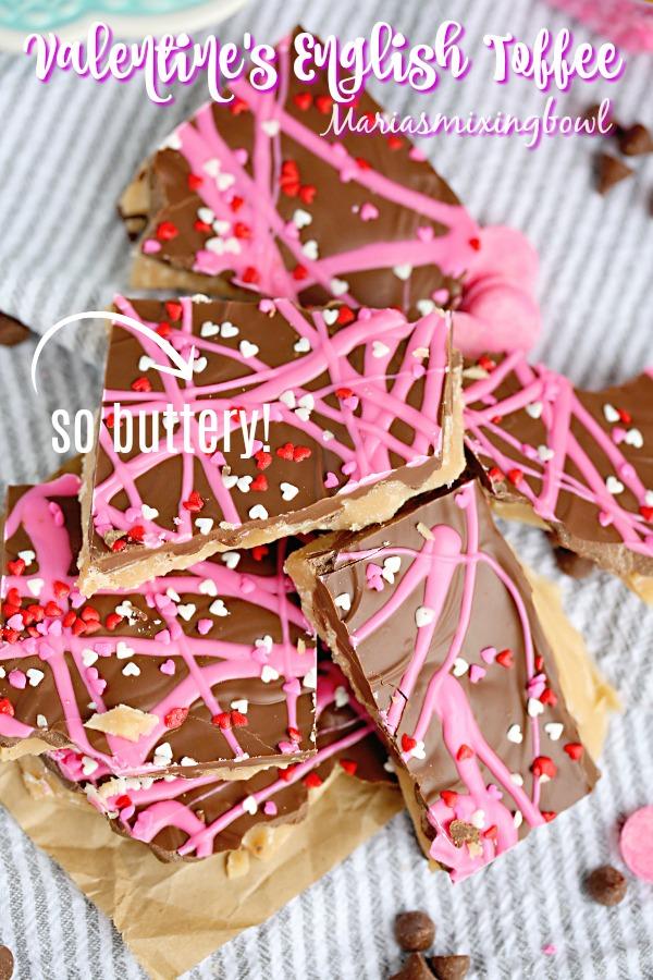 Valentine;s English Toffee