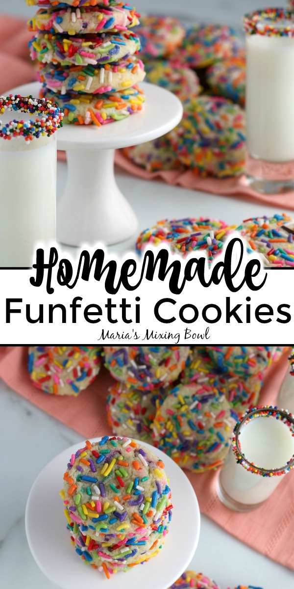 Homemade Funfetti Cookies