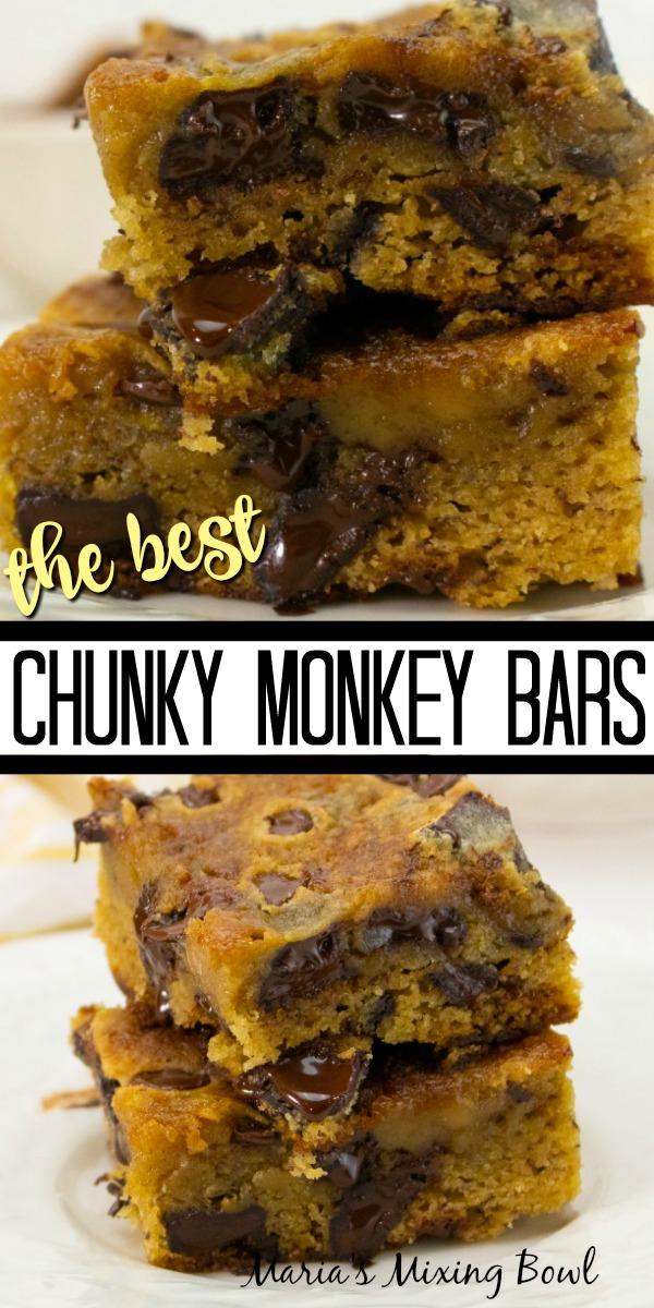The Best Chunky Monkey Bars