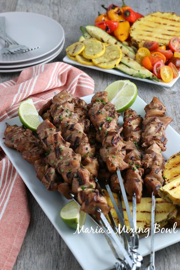 Best Grilled Chicken Kabobs