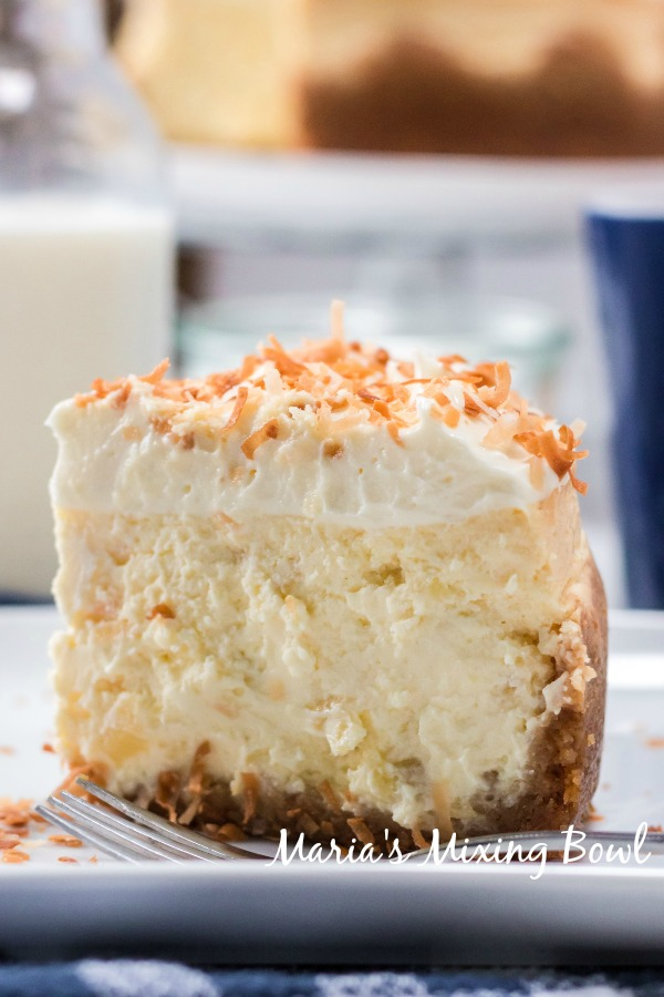 Pina Colada Cheesecake (Instant Pot)