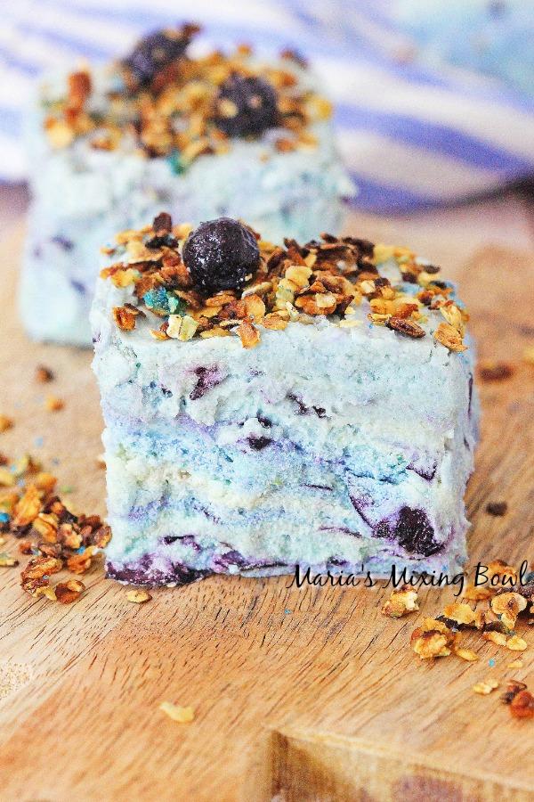 Blueberry Muffin Fudge