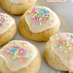 Orange Sprinkle Cookies