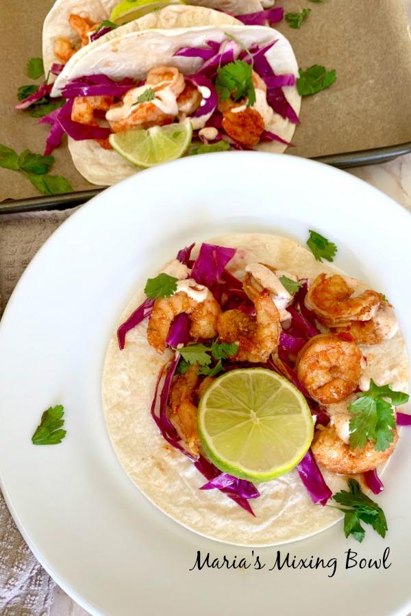 Grilled Shrimp Taco Recipe