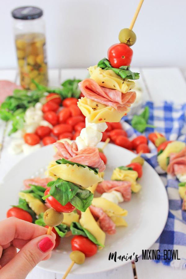 Antipasto Skewers will be a huge hit with everyone!
