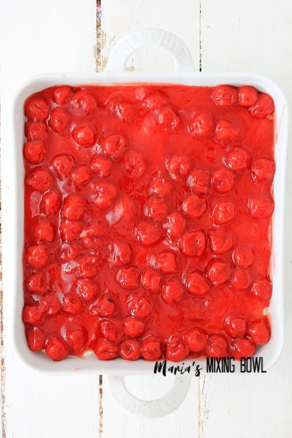 Drool worthy Cherry Cheesecake Icebox Dessert
