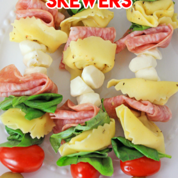Antipasto Skewers a favorite appetizer
