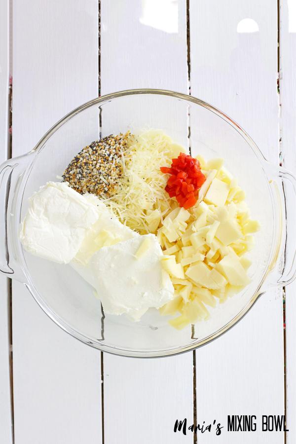 mixture for cheeseball